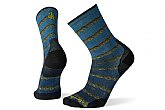 Smartwool PhD Cycle Ultra Light Chains Print Crew