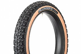 45Nrth Dillinger 5 Studded 60 TPI 26 Fat Bike Tire (Tan)