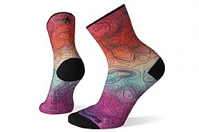 Smartwool Womens PhD Outdoor Light Print Mid Crew