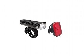 Blackburn Dayblazer 400 Front / Click USB Rear Light Set