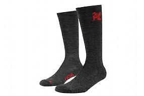Chrome Over the Calf Merino Wool Sock
