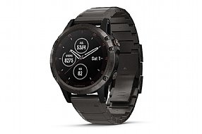 Garmin Fenix 5 Plus Sapphire Full Titanium GPS Watch
