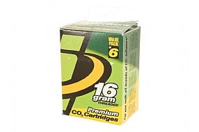Genuine Innovations 16g Threaded CO2 Cartridges (6-Pack)