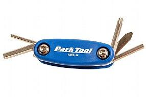 Park Tool AWS-14 Folding Hex Screwdriver  Set
