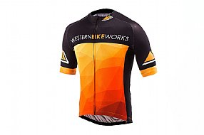 ProCorsa Mens Western Bikeworks Jersey Black