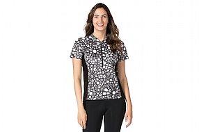 Terry Womens Breakaway Mesh Short Sleeve Plus Jersey