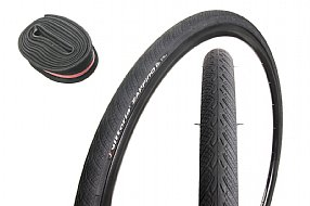 Vittoria Zaffiro 700c Tire and Tube Pack