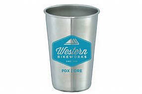 WesternBikeworks Stainless Steel Pint Cup