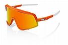 100% Glendale Sunglasses Soft Tact Neon Orange/HiPER Red Multilayer Lens