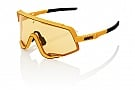 100% Glendale Sunglasses Soft Tact Mustard - Yellow Lens