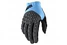 100% Geomatic Gloves Cyan/Charcoal