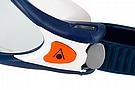 Aqua Sphere Kaiman EXO Goggle Blue Muted/White w/Clear Lens