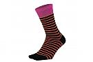DeFeet Aireator 6 Inch Socks Sailor Black / Pink