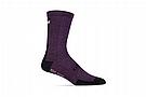 Giro HRC Merino Wool Sock Dusty Purple/Black