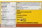 Honey Stinger Organic Cracker Bar (Box of 12) Peanut Butter Milk Chocolate Nutrition Facts