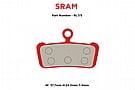 MTX Braking Red Label RACE Brake Pads SRAM G2/Guide ALL
