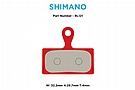 MTX Braking Red Label RACE Brake Pads Shimano XT/XTR 2-piston