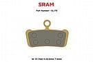 MTX Braking Gold Label HD Brake Pads SRAM G2/Guide ALL