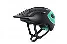 POC Axion SPIN MTB Helmet Uranium Black/Fluorite Green Matt