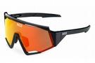 KOO Spectro Sunglasses  Black Red/Red Mirror Lenses
