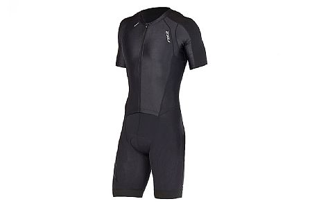 2XU Mens Compression Full Zip Sleeved Trisuit