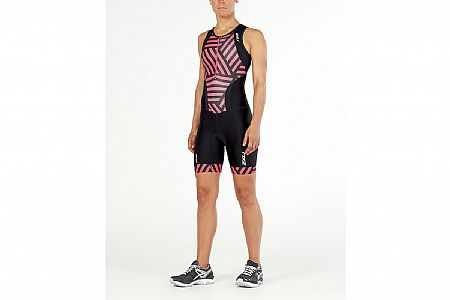2XU Womens Perform Front Zip Tri Suit