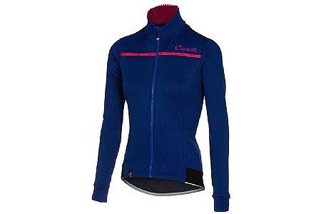 Castelli Womens Potenza Long Sleeve Fleece Jersey