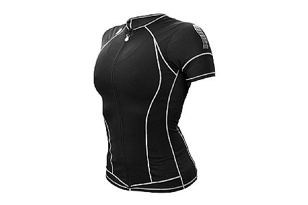 De Soto Womens Skin Cooler Short Sleeve Tri Top