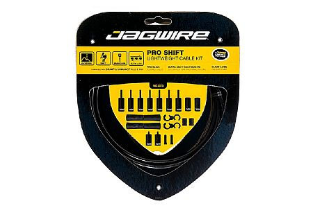 Jagwire PRO Polished Derailleur Cable Set