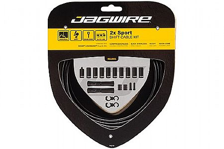 Jagwire 2x Sport Shift Cable Kit SRAM/Shimano