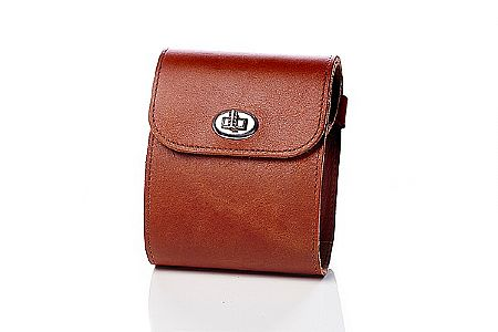 Faraday Bicycles Inc. Leather Top Tube Bag with U-Lock Holder