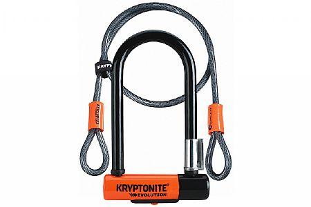 Kryptonite Evolution Mini-7 U-Lock with Flex Cable