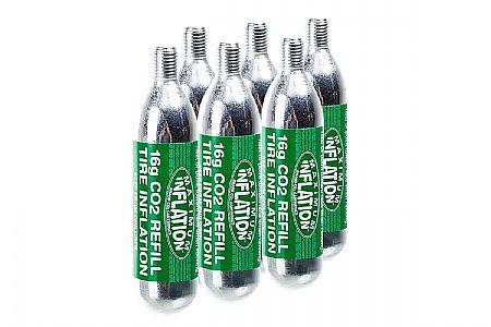 WesternBikeworks 16g Threaded CO2 Cartridge (6-Pack)