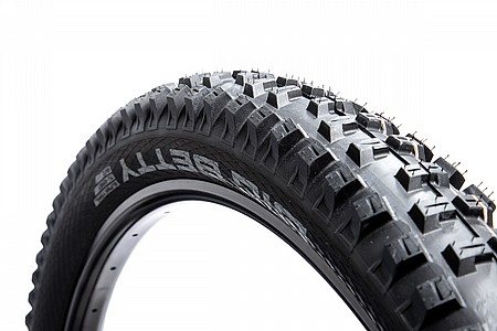 "Schwalbe Big Betty Tire 26 x 2.4/"" Black Wire Performance Line, Clincher"