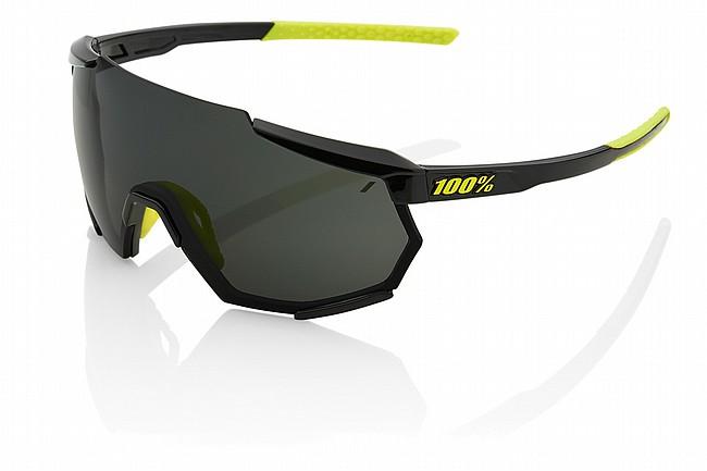 100% Racetrap Gloss Black/Smoke Lens