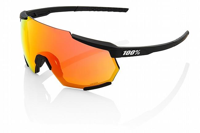 100% Racetrap Soft Tact Black/HiPER Red Multilayer Mirror Lens