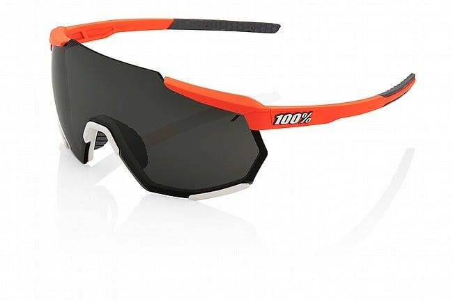 100% Racetrap Soft Tact Oxyfire/Black Mirror Lens