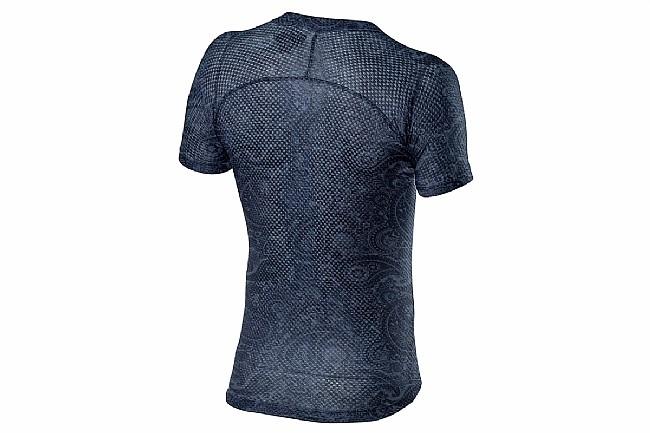Castelli Mens Pro Mesh Short Sleeve Baselayer Dark Steel Blue