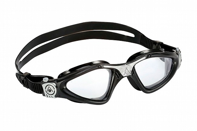 Aqua Sphere Kayenne Goggle Black/Silver w/Clear Lens