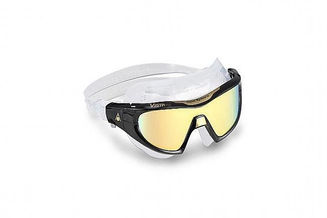 Aqua Sphere Vista Pro Goggle Black w/Multi-Mirror Lens