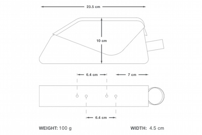 Apidura Racing Bolt-On Top Tube Pack