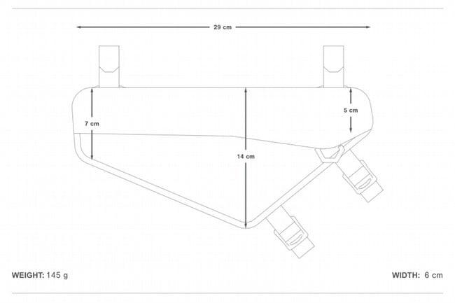 Apidura Racing Frame Pack 2.4L
