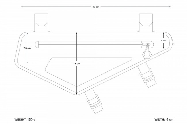 Apidura Backcountry Frame Pack 2L