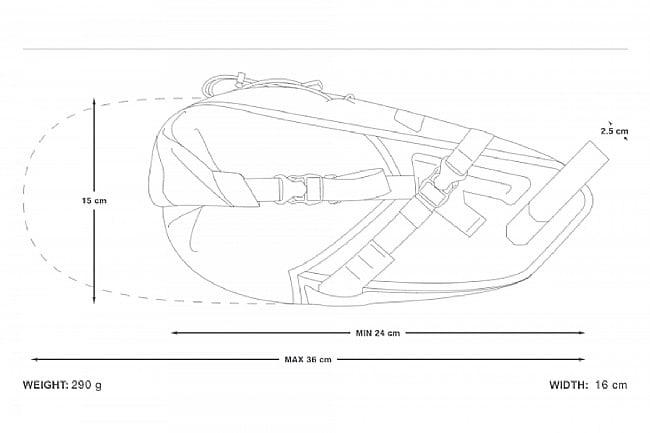 Apidura Backcountry Saddle Pack 6L
