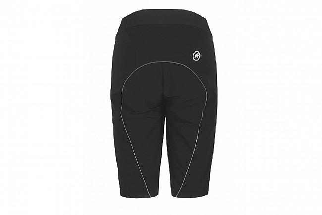 Assos Womens Trail Cargo Shorts Black Series
