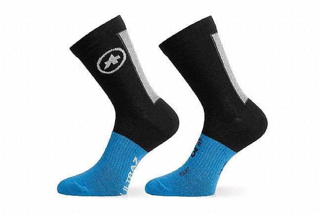 Assos Ultraz Winter Socks Blackseries