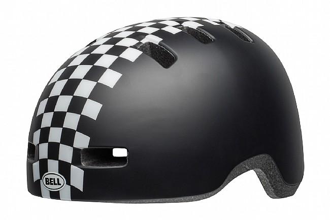 Bell Lil Ripper Toddler Helmet Checkers Matte Black/White