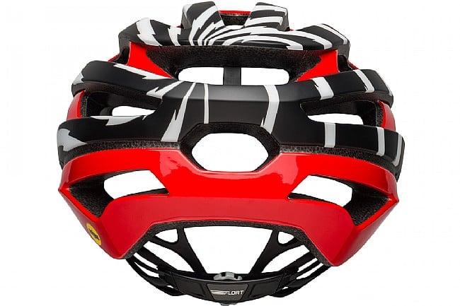 Bell Stratus MIPS Helmet Vertigo Matte/Gloss Black/White/Red