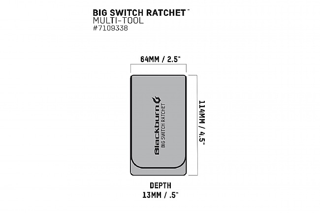 Blackburn Big Switch Ratchet Multi Tool Blackburn Big Switch Ratchet Multi Tool