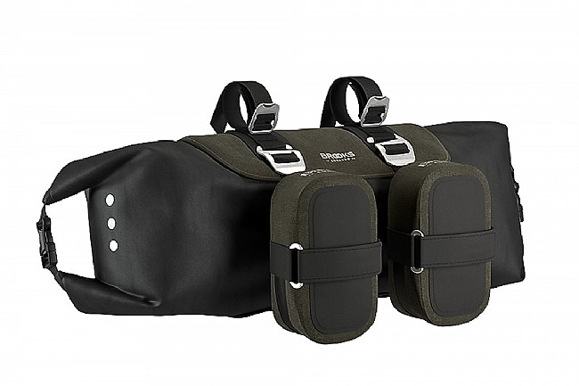 Brooks Scape Handlebar Roll Small Accessory Bags Sold Separately